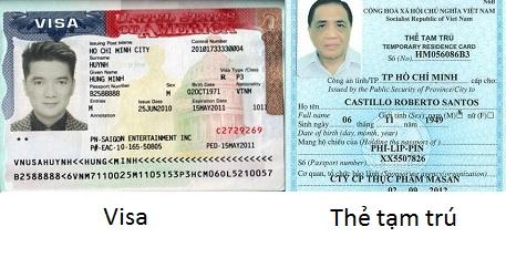 Có thẻ tạm trú có cần xin visa không luật sư trả lời