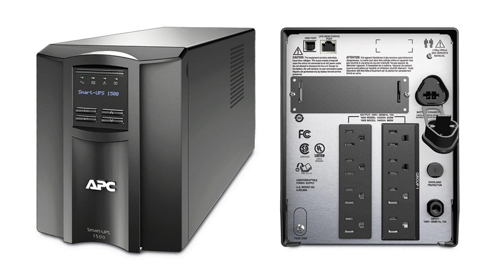 UPS lưu trữ điện năng dự phòng