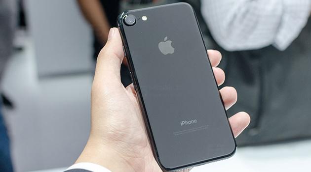 iPhone 7 phiên bản màu đen bóng