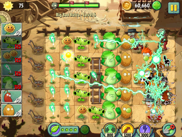 Game Zombies chiến thuật