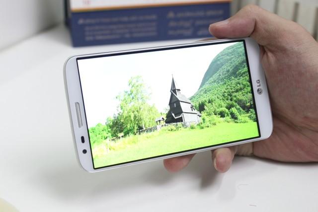 Điện thoại LG G2 bị lỗi màn hình phải làm sao?